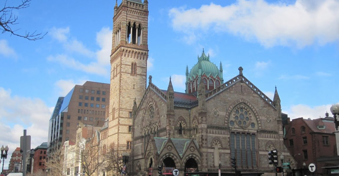 The Renowned Old South Church In Boston