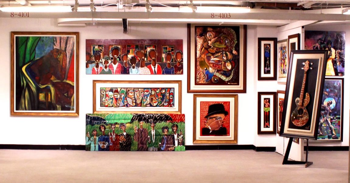 Annual Harlem Fine Arts Show Exhibit At Tucc Trinity