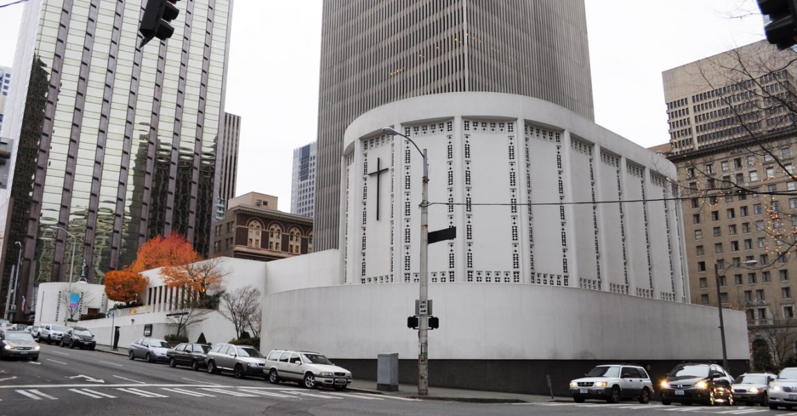 History Of Plymouth Church In Downtown Seattle